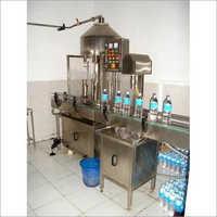 Semi Automatic Mineral Water Bottle Filling Machine