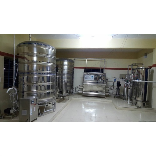 4000 Lph Mineral Water Plant