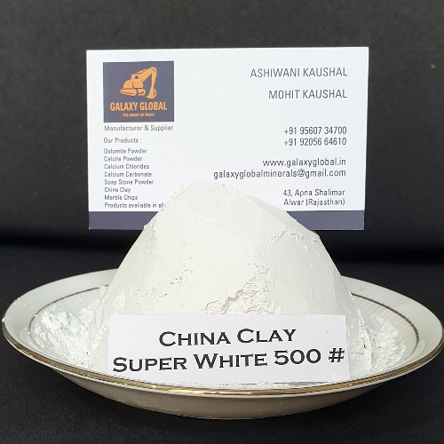 China Clay Super White 500