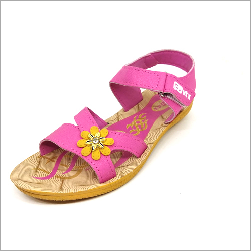 Beez And Pink Girls Sandals