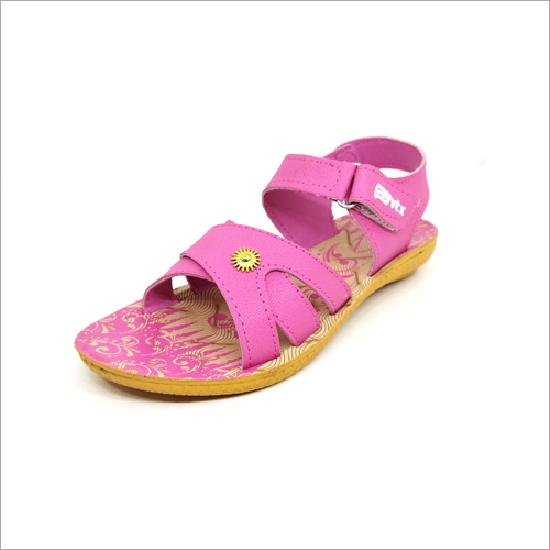 Pink Girls Fancy Sandals