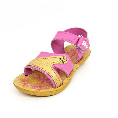 Pink and Golden Girls Casual Sandals