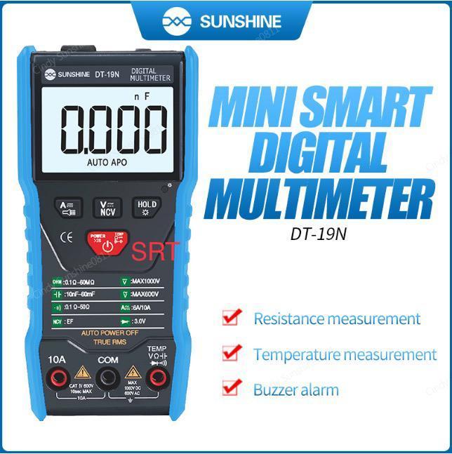 Sunshine-digital Multi Meter Dt19n