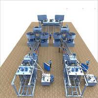 Automatic Brick Making Plant