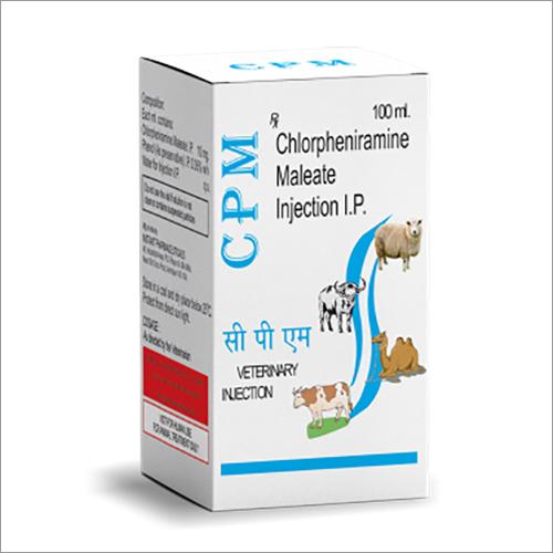 Chlorpheniramine Maleate Veterinary Injection IP