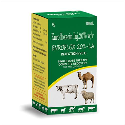 Enrofloxacin 20 % w-v Veterinary Injection