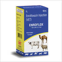 Enrofloxacin Veterinary Injection IP
