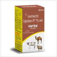 Ivermectin 1 % w-v Veterinary Injection IP