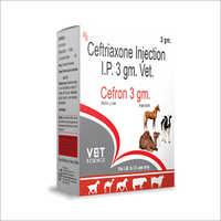 Ceftriazone Veterinary Injection IP