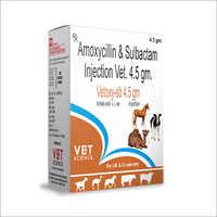 Amoxycillin and Sulbactam Veterinary Injection