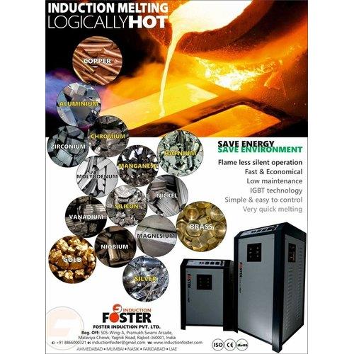 Aluminium Melting Furnace Induction Based