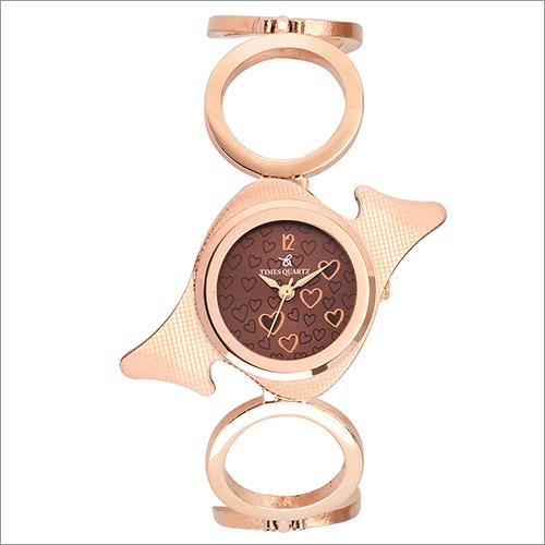 Times Quartz Analogue Rose Gold Women Watch