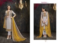 Khwaab Cotton Slub Print Dress Materials