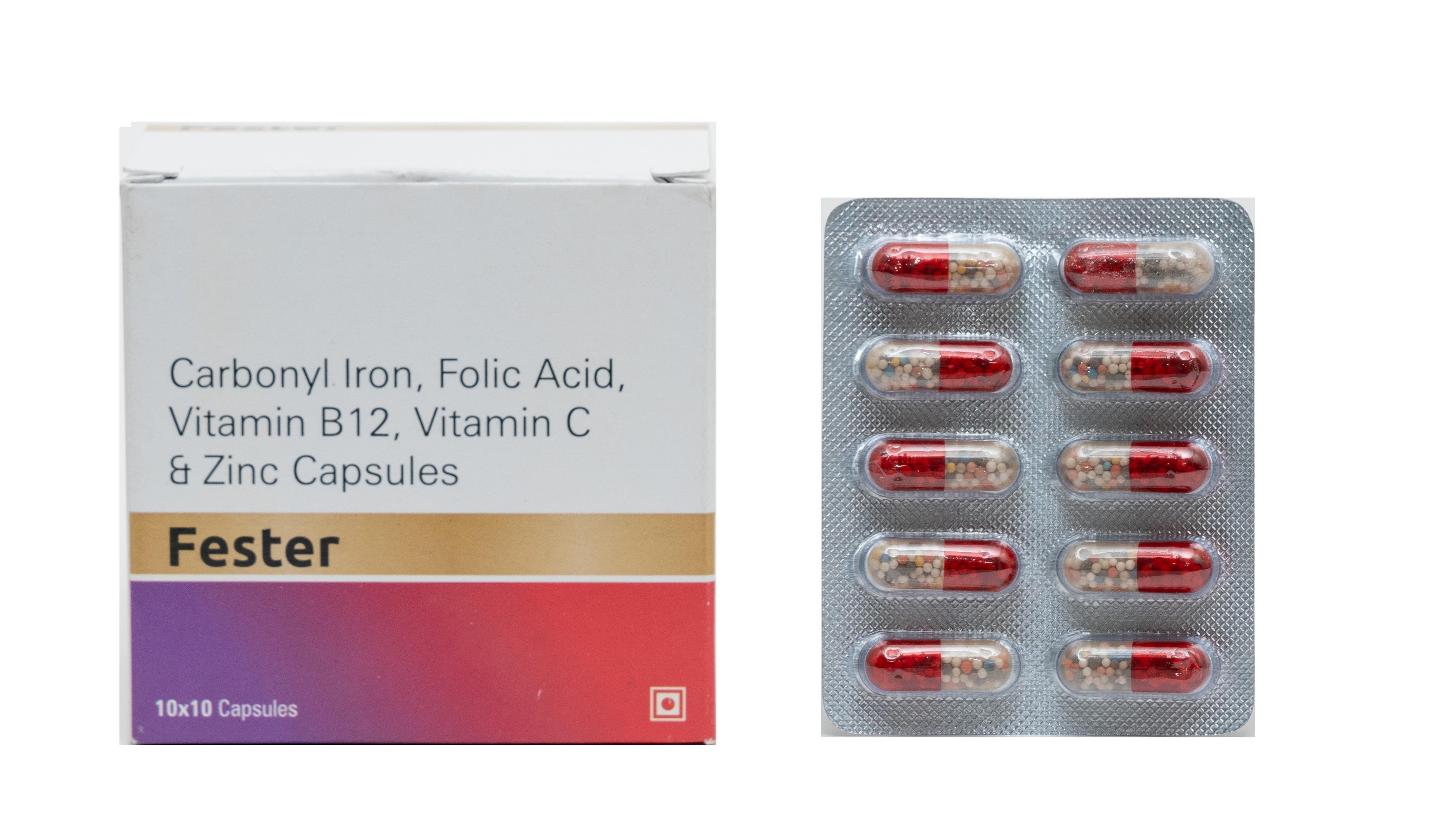 Zinc Sulphate Iron Capsule