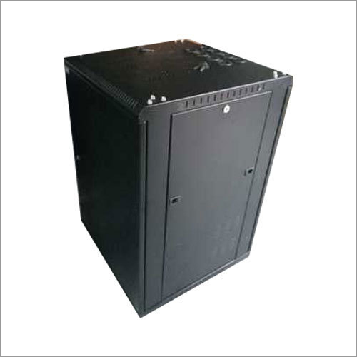 Steel Black Server Rack