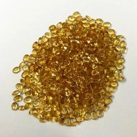 3x4mm Citrine Faceted Oval Loose Gemstones