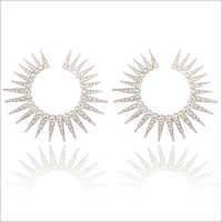 Ladies Silver Plated Earrings