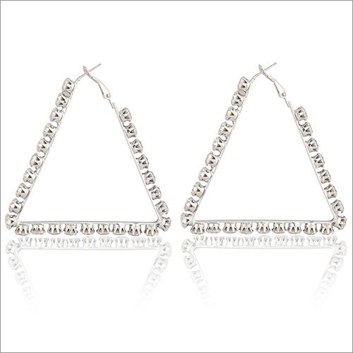 Ladies Triangle Earrings