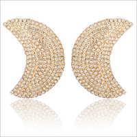 Ladies Half Moon Earrings