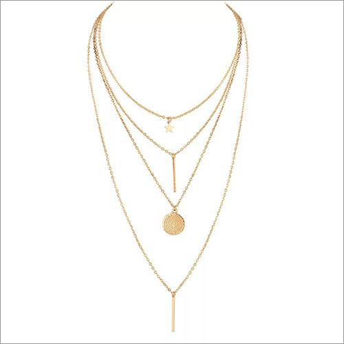 Ladies Three Chain Pendant