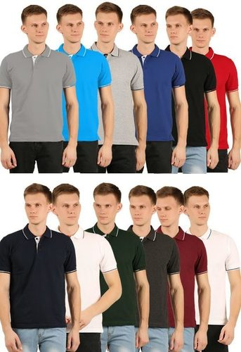 Reputed branded  mens polo t shirts