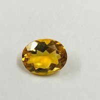 9x11mm Citrine Faceted Oval Loose Gemstones