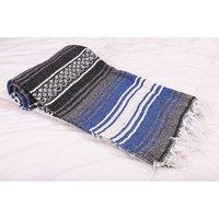 Dark Blue Falsa Blanket