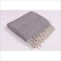 Grey Herringbones Blankets