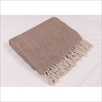 Natural Herringbones Blankets