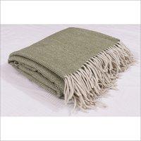 Pistachio Herringbones Blankets