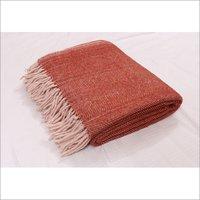 Rust Herringbones Blankets
