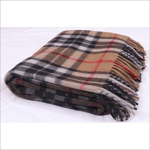 Camel Thomson Tartan Blankets