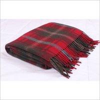 Dark Maple Tartan Blankets