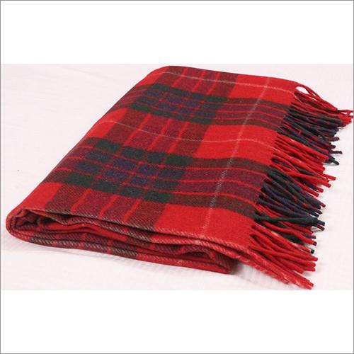 Fraser Red Tartan Blankets