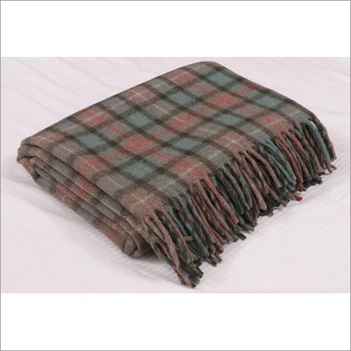 Fraser Hunting Weathered Tartan Blankets