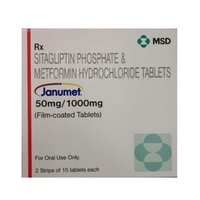 Sitagliptin  and Metformin hydrochloride Tablets