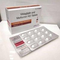 Vildagliptin and Metformin  Tablets