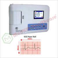 ECG Three Channel Machine