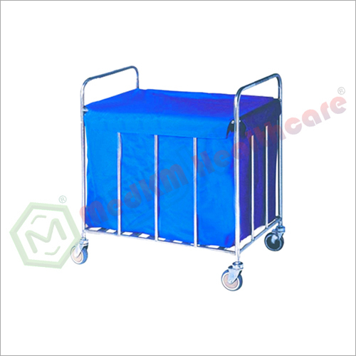 Trolley For Dirty Linen And Ss Waste