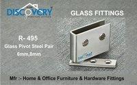 Glass Pivot ( Steel )