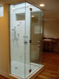 Leak Proof Glass Steam Room Cubicles