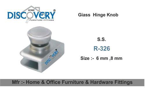 Glass Hinge Knob