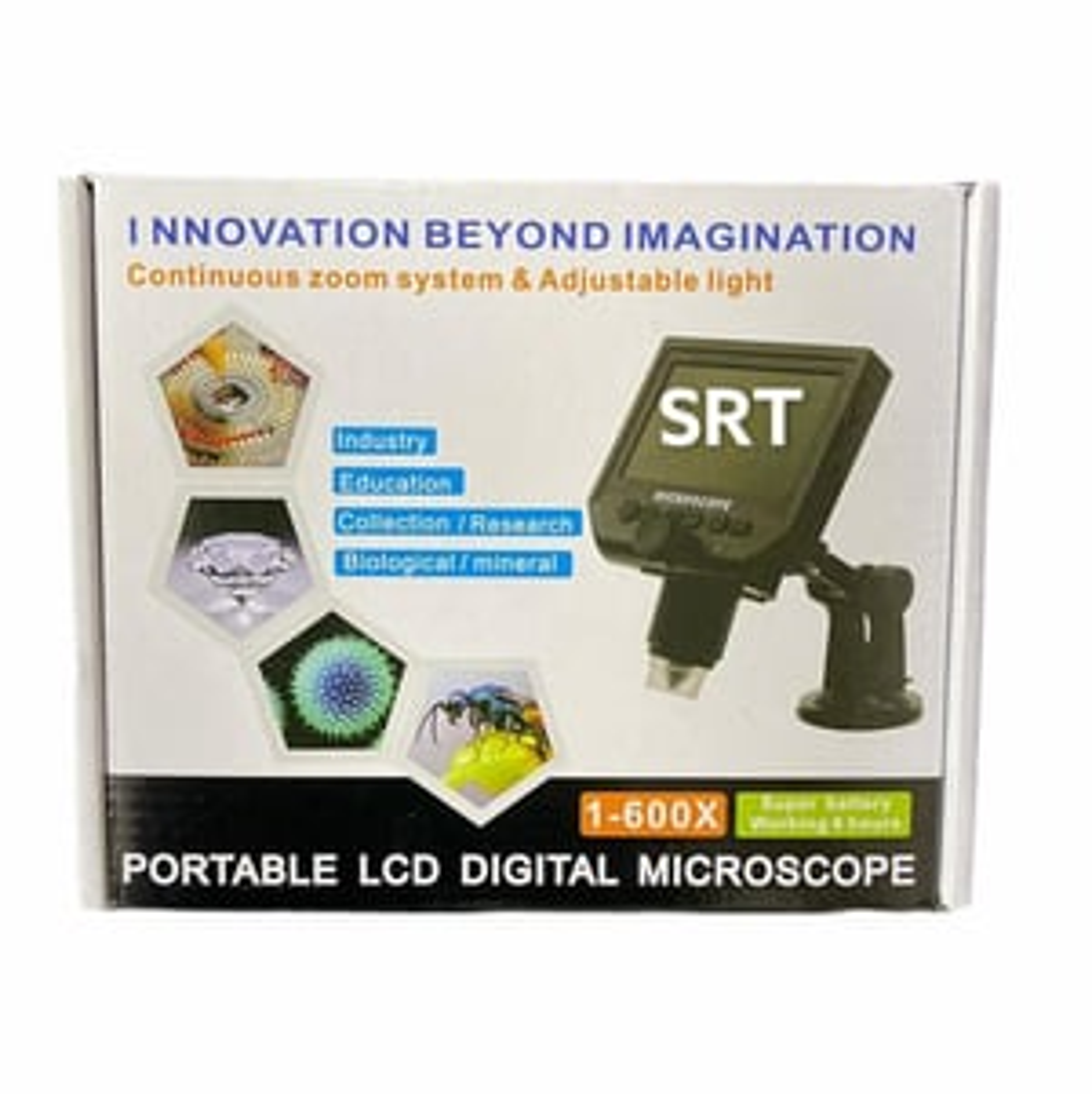 600x Portable LCD Digital Microscope