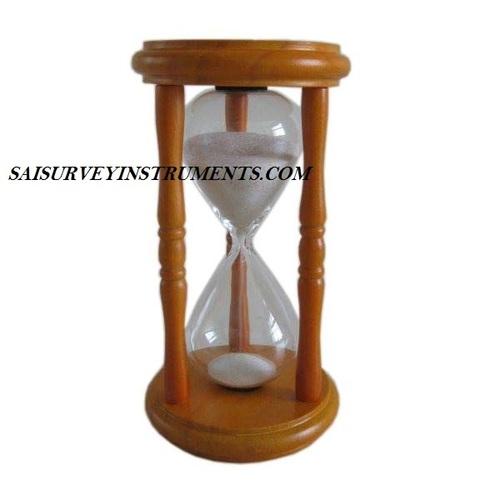 MARINE WOODEN SAND TIMER - (5 MIN)