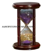 Cherry Hourglass Sand Timer With Purple Sand -  (15 Min)