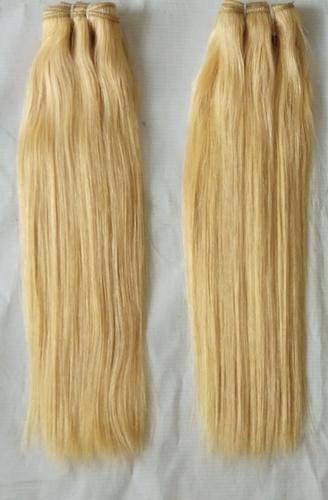 Raw Natural Straight Blonde Hair 613 Colour