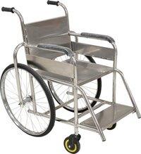 Stainless Steel Manual Wheel Chair