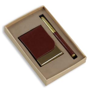 Visiting Card Holder & Pen Set