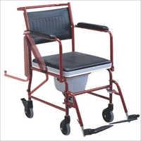 Folding Commode Wheel Chair