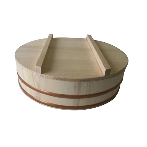 Rice Barrel with Drop Lid for Sushi